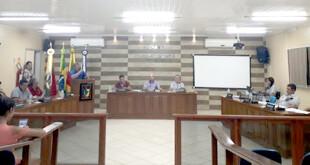 TABAÍ - Sessão da Câmara
